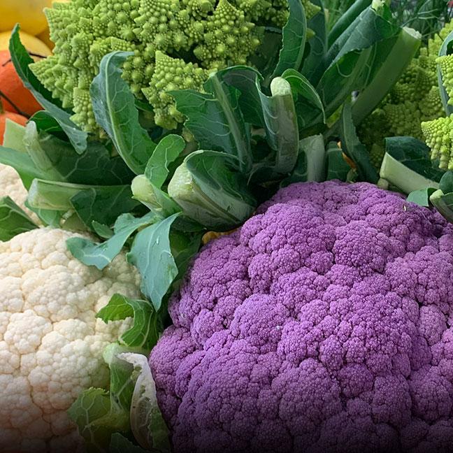 Organic Cauliflower - Coke Farm